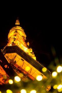 見上げた東京タワー