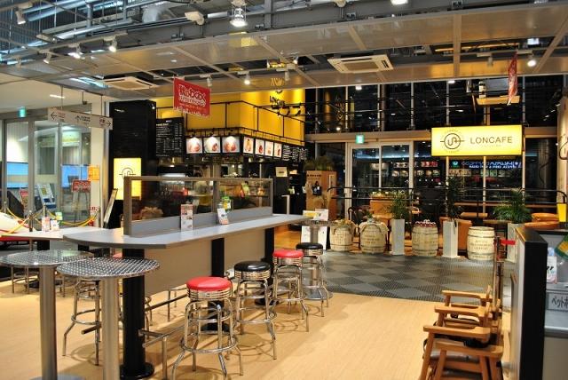サービスエリアにあるカフェ