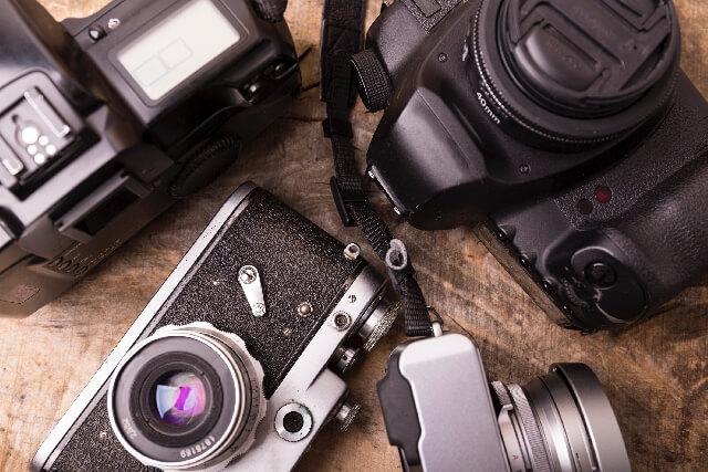 4台のカメラ