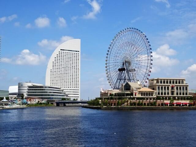 横浜・みなとみらいの風景