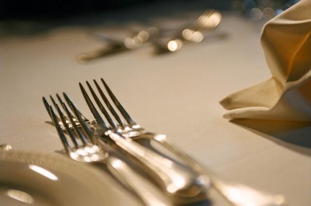 見るからに高級そうなレストラン