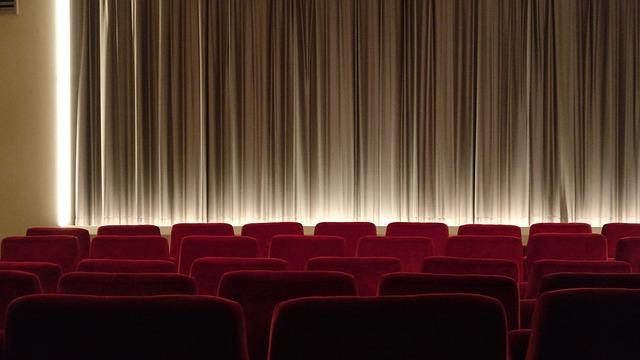 映画館の幕