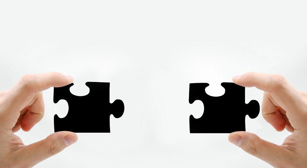 近づくパズルのピース