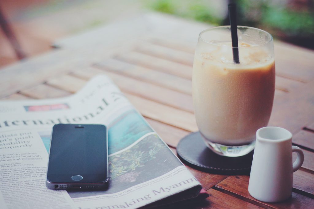 ロイヤルミルクティーとiPhone