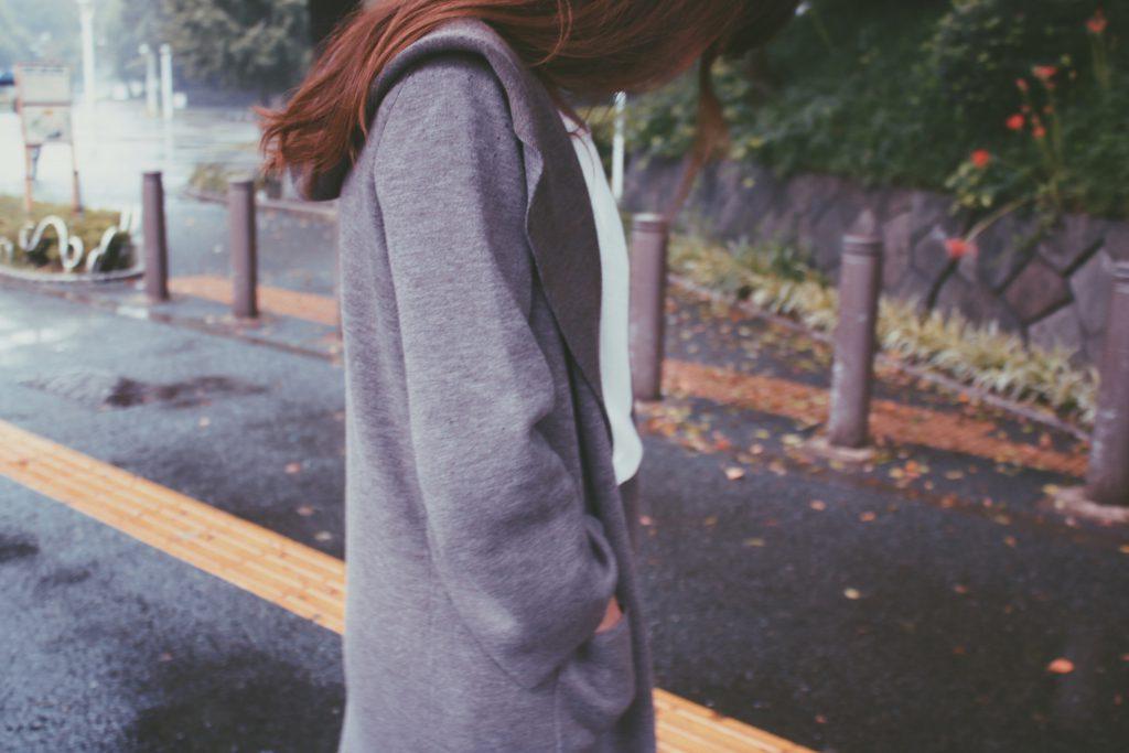 はりきって撮影に来たら雨に振られてしまった雨女