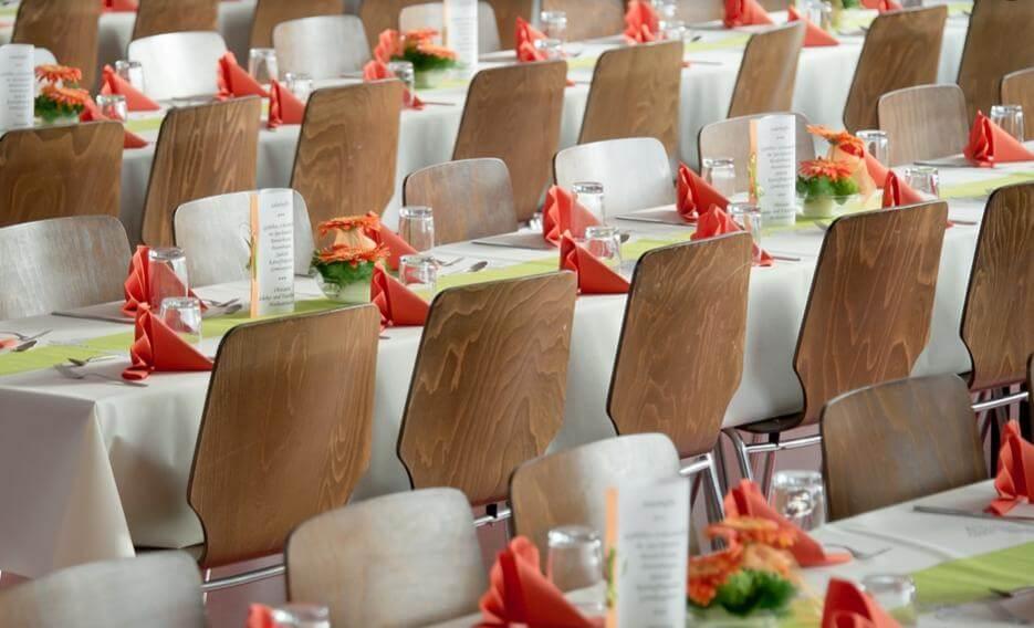 結婚式のダイニングテーブル