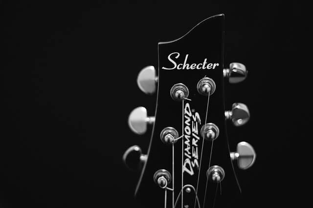 ギターのチューニング部分
