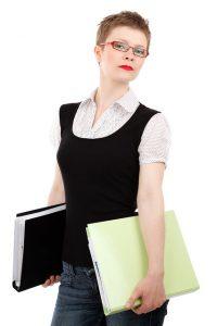 アシスタントの女性