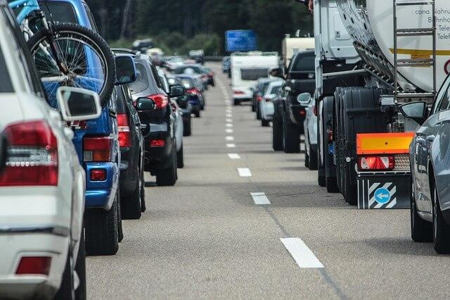 首都高の交通渋滞