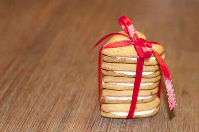積み重ねられたクッキー