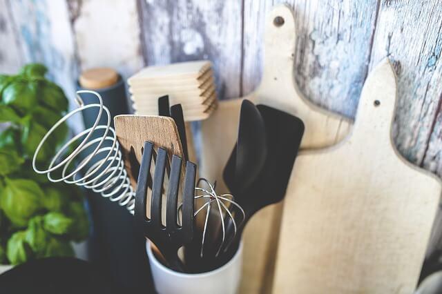 趣味で使う調理道具