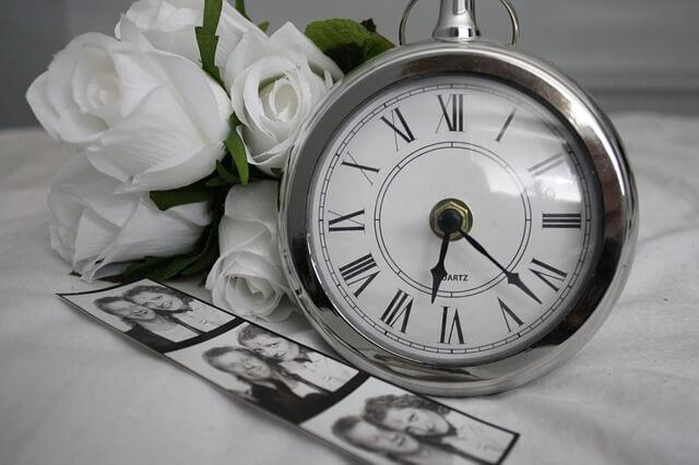 丸いポケット時計