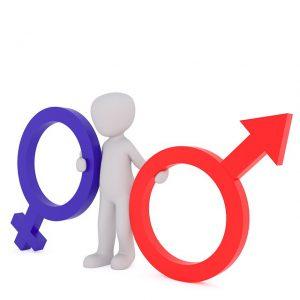 男性と女性のシンボル