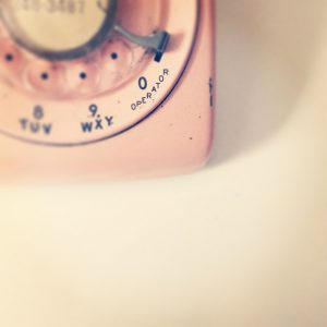 ピンクのダイヤル