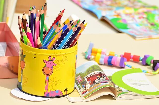 色鉛筆ボックス