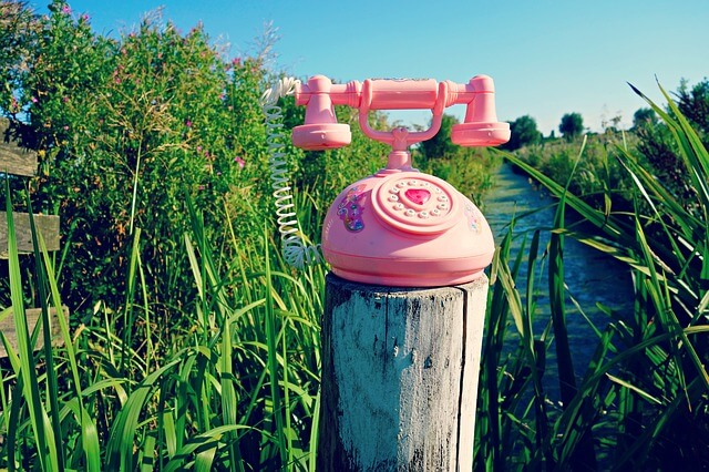 ノスタルジックな電話