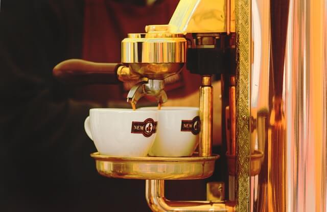 長居できるカフェのコーヒー