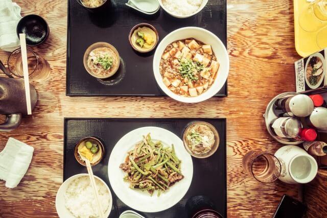 中華定食ランチ