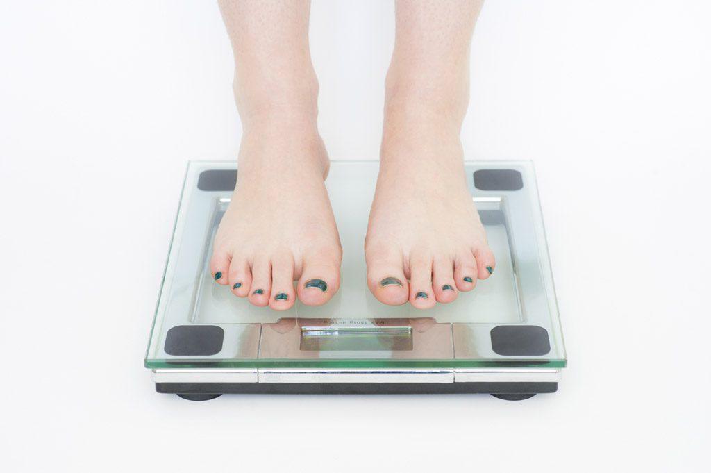 体重などの個人情報