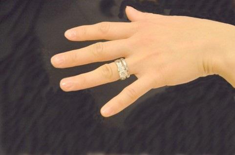 交際していたときにプレゼントした指輪