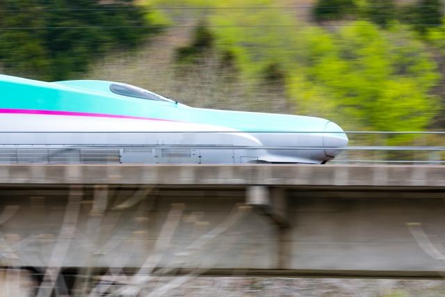 国内を走る新幹線