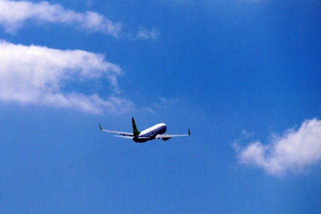 海外に行く飛行機