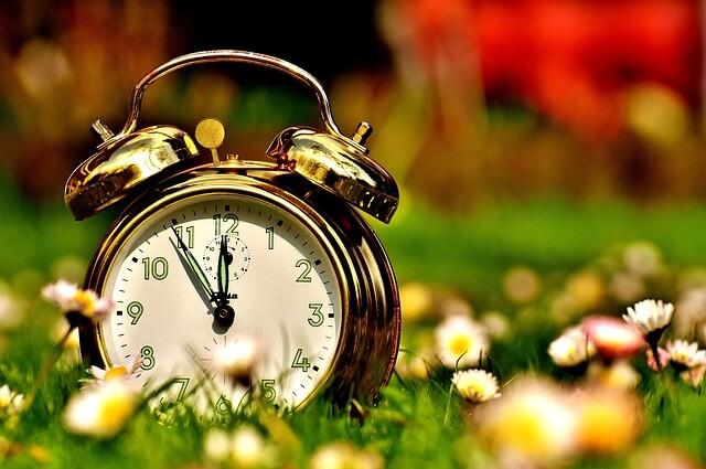 時間の刻む時計