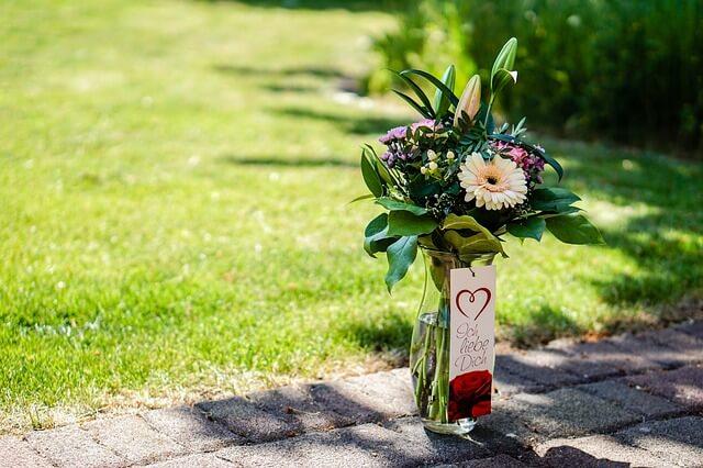 ささやかな花のプレゼント