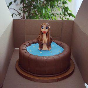 お祝いの誕生日ケーキ