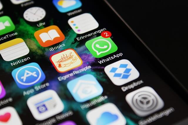 コミュニケーションアプリの通知