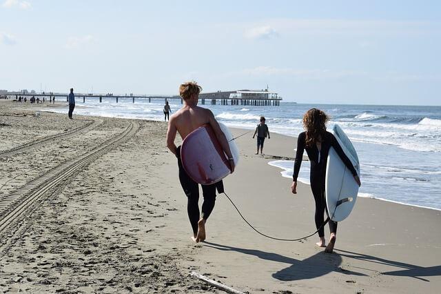 趣味のサーフィン仲間