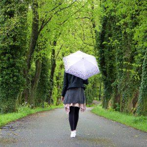 一人で歩く道