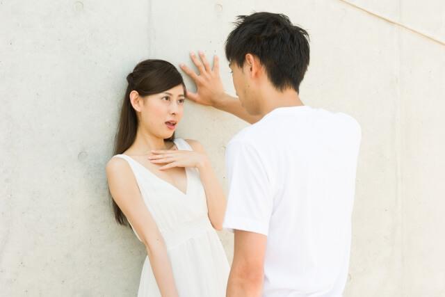 ドキドキしている女性