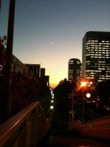 決意の夕日