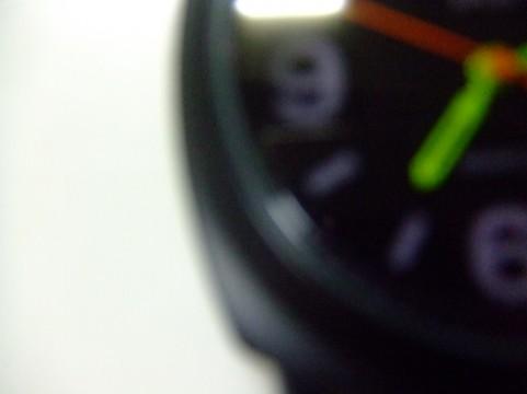 ぼやけた時計