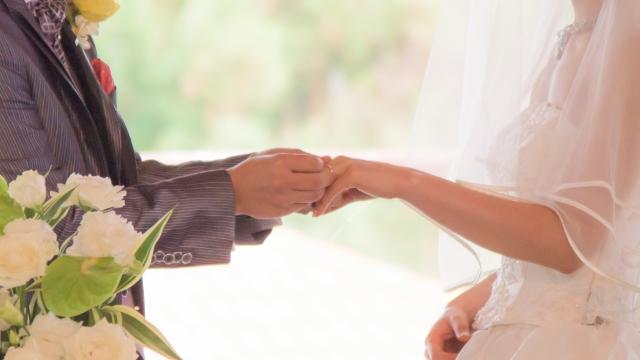 彼氏との結婚式