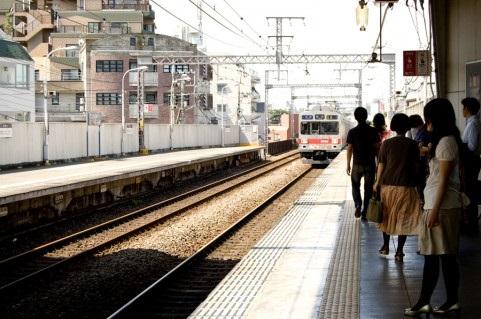 毎朝同じ時刻の通勤電車