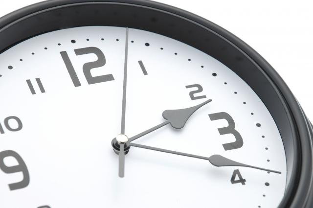 勝手に進む時計