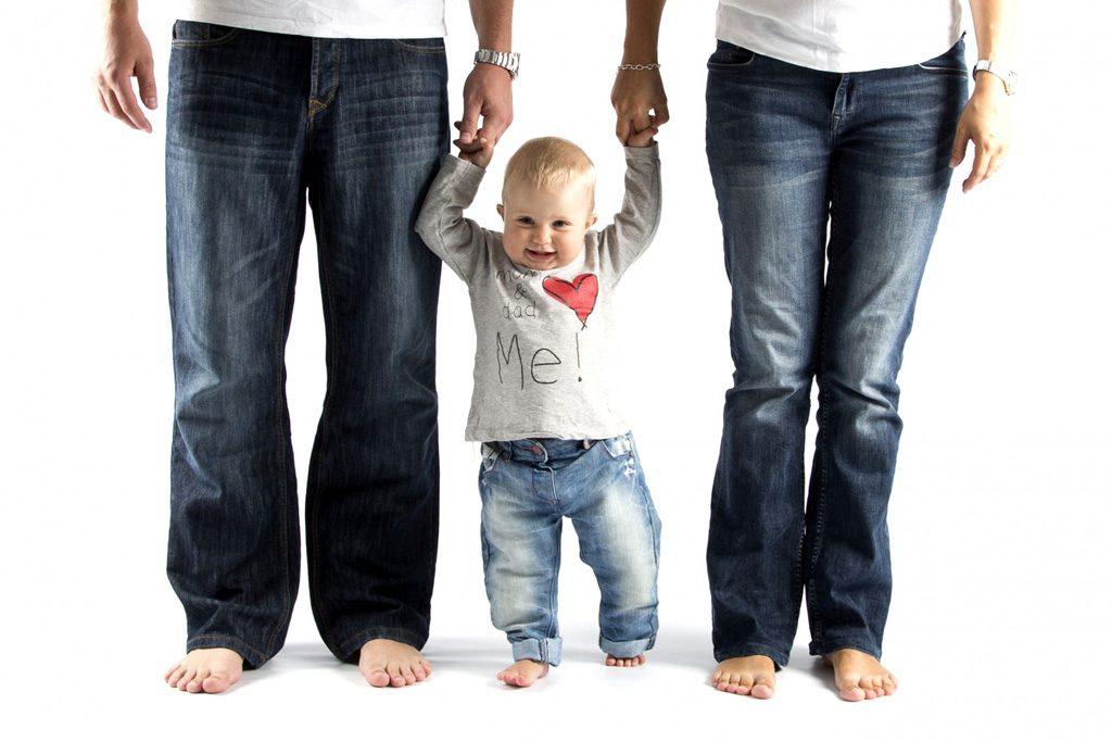 幸せいっぱいの家庭