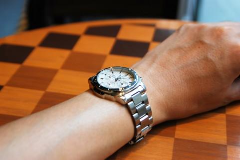 プレゼントした腕時計