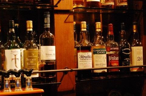 並べられたウイスキー