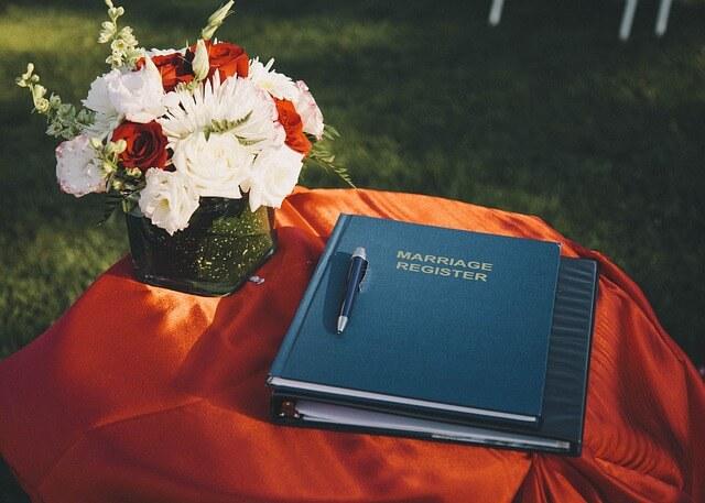 結婚の登録