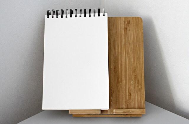 書き留める用のノート