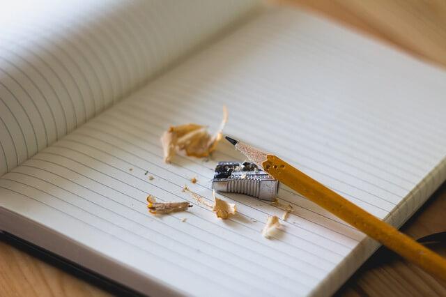 別れの手紙と鉛筆