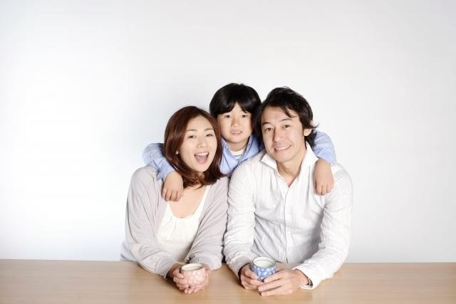 微笑ましい家庭