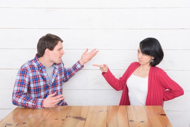 些細なことで喧嘩別れしたカップル