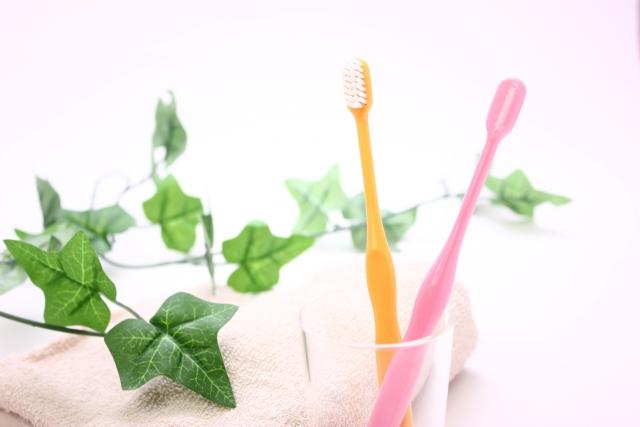 同棲した時の歯ブラシ2本