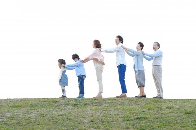 子供や孫の成長