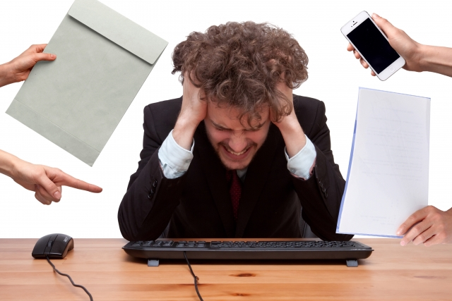 忙しすぎる男性
