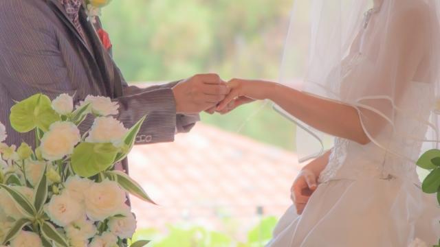 結婚式の晴れ舞台